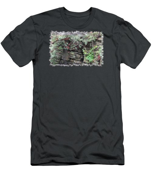 Where A Glacier Has Been Men's T-Shirt (Athletic Fit)