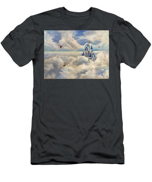 Where Dreams Come True Men's T-Shirt (Slim Fit) by Randy Burns