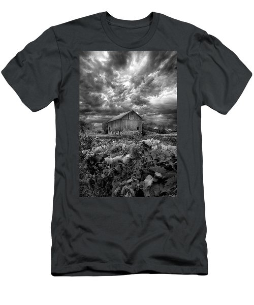 Where Ghosts Of Old Dwell And Hold Men's T-Shirt (Slim Fit) by Phil Koch