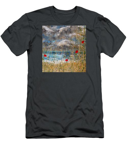 Where Poppies Blow Detail Men's T-Shirt (Athletic Fit)
