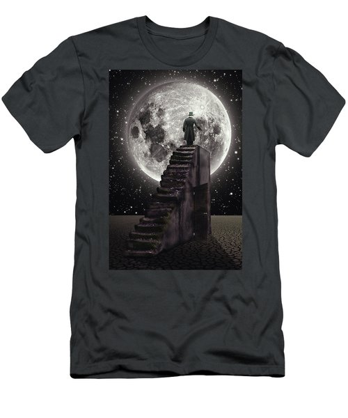 Where The Moon Rise Men's T-Shirt (Athletic Fit)