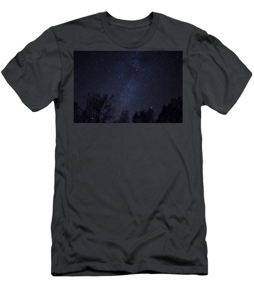 Where The Wind And The Coyotes Howl Men's T-Shirt (Athletic Fit)