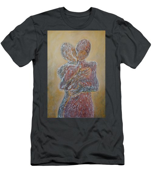 Where You Start And I Begin Men's T-Shirt (Slim Fit) by Theresa Marie Johnson