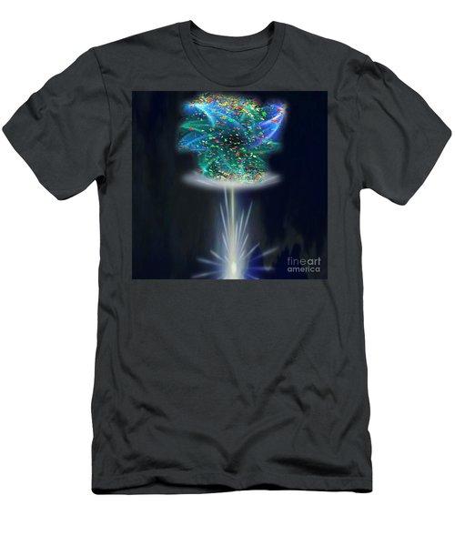 Whimsical Men's T-Shirt (Slim Fit) by Belinda Threeths