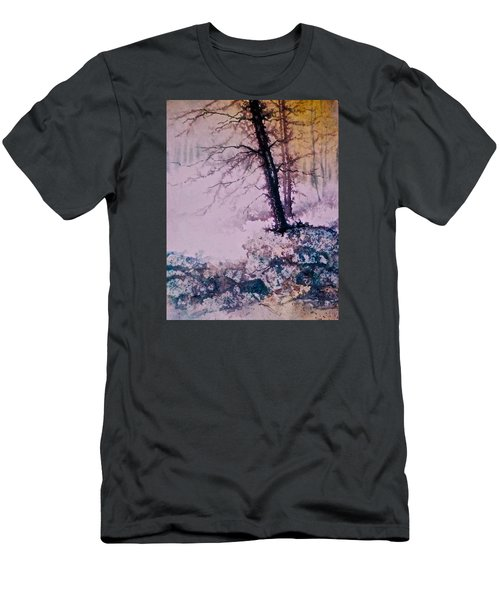 Whispers In The Fog  Partii Men's T-Shirt (Slim Fit) by Carolyn Rosenberger