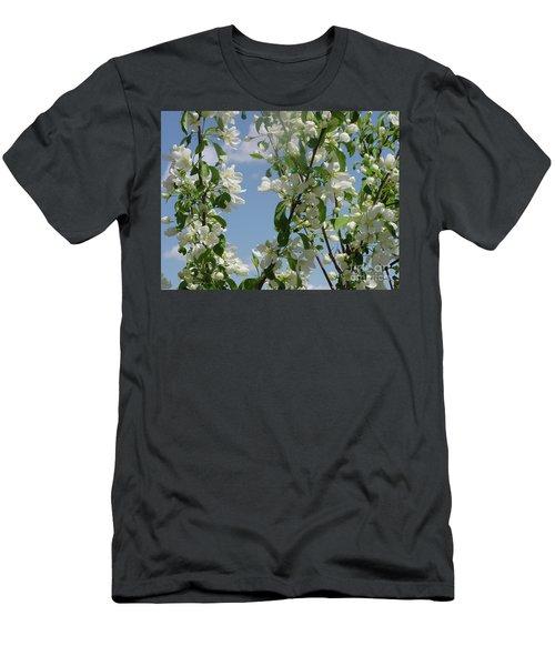 White Crabapple Men's T-Shirt (Athletic Fit)