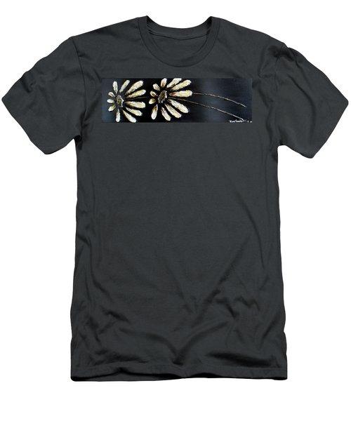 White Daisies Men's T-Shirt (Athletic Fit)