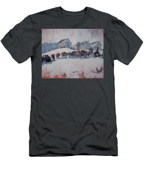 White Hill Zonneberg Maastricht Men's T-Shirt (Slim Fit) by Nop Briex