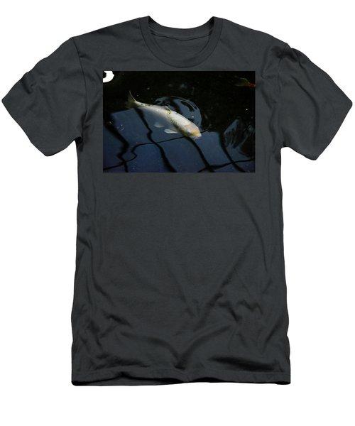 White Koi Men's T-Shirt (Athletic Fit)