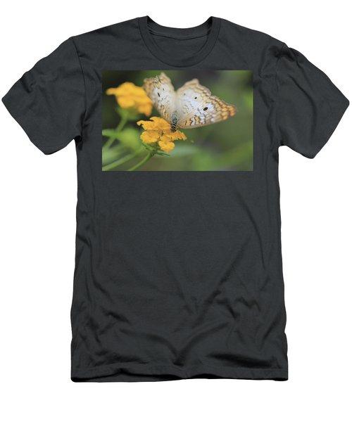 White Peacock Men's T-Shirt (Athletic Fit)