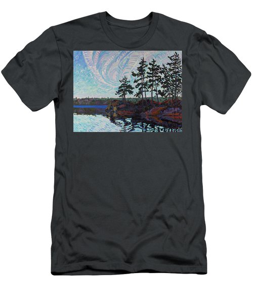White Pine Island Men's T-Shirt (Athletic Fit)