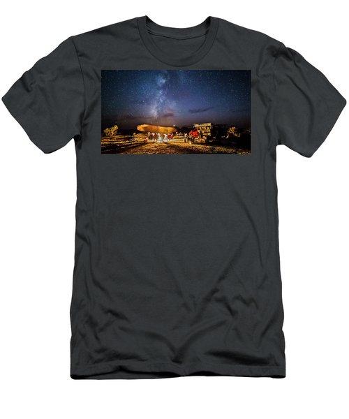 White Rim Camp Men's T-Shirt (Athletic Fit)