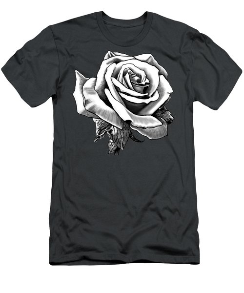 White Rose For The Lady Men's T-Shirt (Athletic Fit)