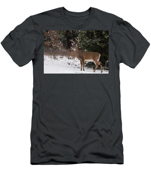 White-tailed Deer - 8904 Men's T-Shirt (Athletic Fit)