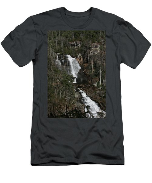 Whitewater Falls Men's T-Shirt (Slim Fit) by Cathy Harper