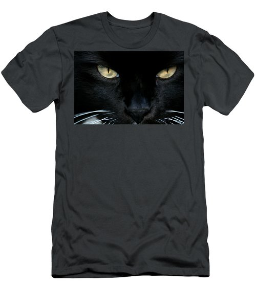 White Whiskers Men's T-Shirt (Athletic Fit)