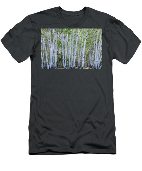 White Wilderness Men's T-Shirt (Slim Fit) by James BO Insogna