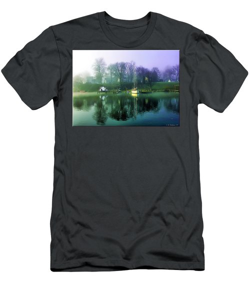 Men's T-Shirt (Slim Fit) featuring the photograph White's Cove Awakening by Brian Wallace
