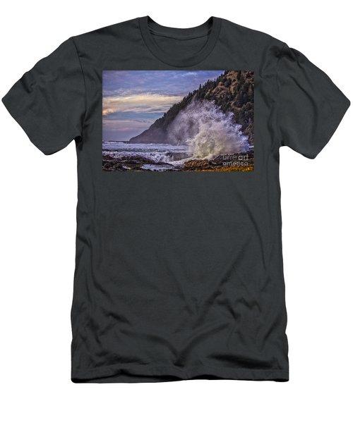 Whitewash Men's T-Shirt (Slim Fit) by Billie-Jo Miller