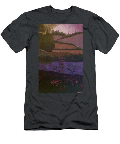 Looking  Men's T-Shirt (Athletic Fit)