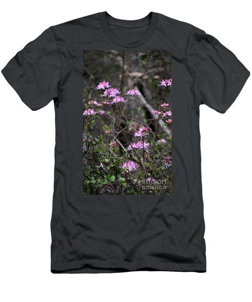 Men's T-Shirt (Slim Fit) featuring the photograph Who Put The Wild In Wildflowers by Skip Willits