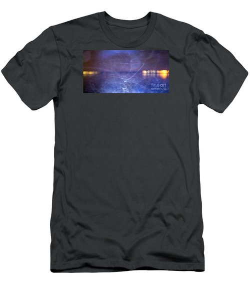 Men's T-Shirt (Slim Fit) featuring the photograph Whoosh Of Mosquitoes In The Night by Odon Czintos
