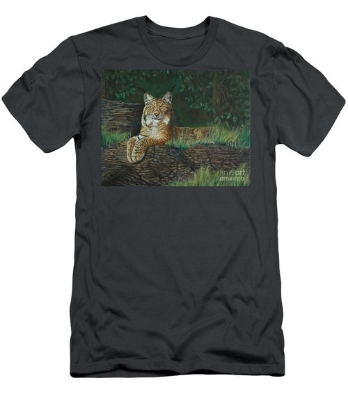 The Ever Watchful Lynx Men's T-Shirt (Athletic Fit)