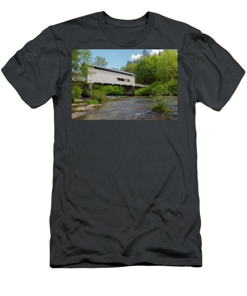 Wild Cat Bridge No. 2 Men's T-Shirt (Athletic Fit)