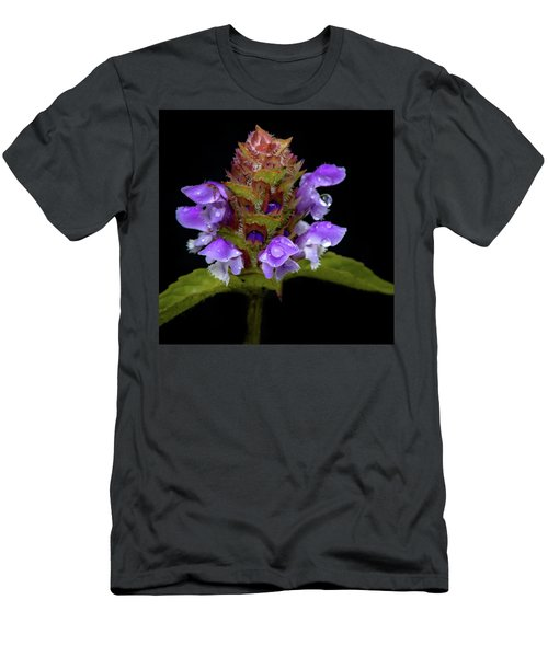 Wild Flower Portrait Men's T-Shirt (Athletic Fit)