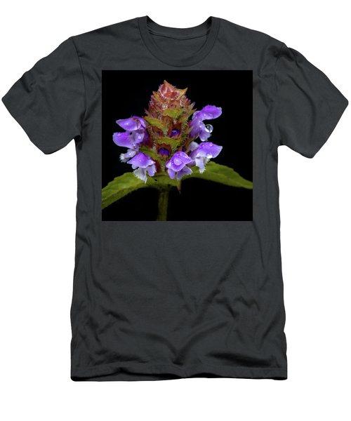 Wild Flower Portrait Men's T-Shirt (Athletic Fit)