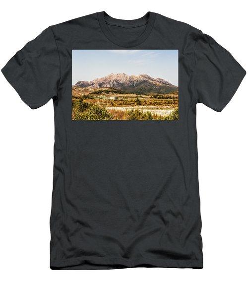 Wild Mountain Range Men's T-Shirt (Athletic Fit)