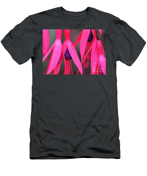 Wild Oregon Fuchsia  Men's T-Shirt (Athletic Fit)