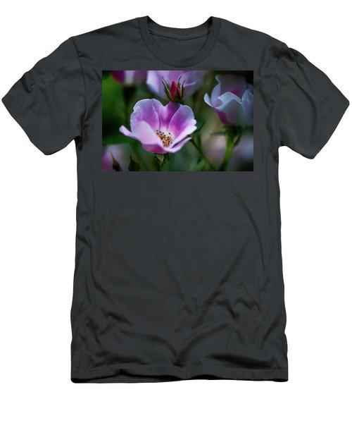Wild Rose 7 Men's T-Shirt (Athletic Fit)