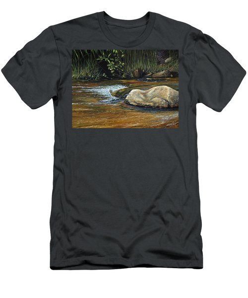 Wilderness Creek Men's T-Shirt (Slim Fit)