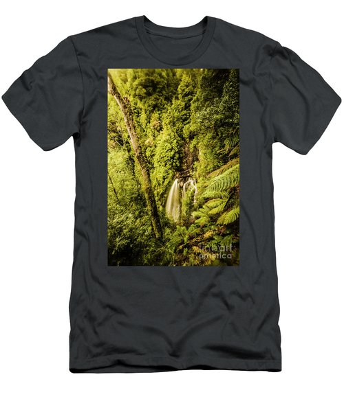 Wilderness Falls Men's T-Shirt (Athletic Fit)