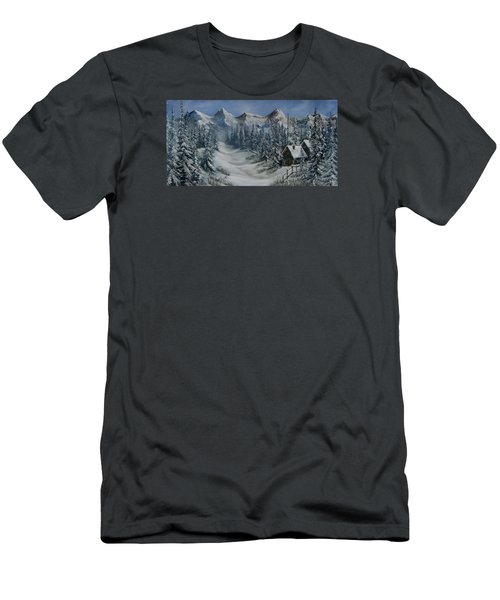 Wilderness Men's T-Shirt (Slim Fit) by Katia Aho