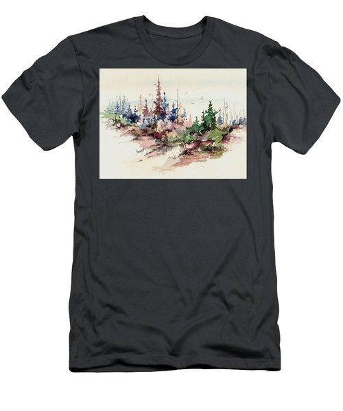 Wilderness Men's T-Shirt (Slim Fit) by Sam Sidders