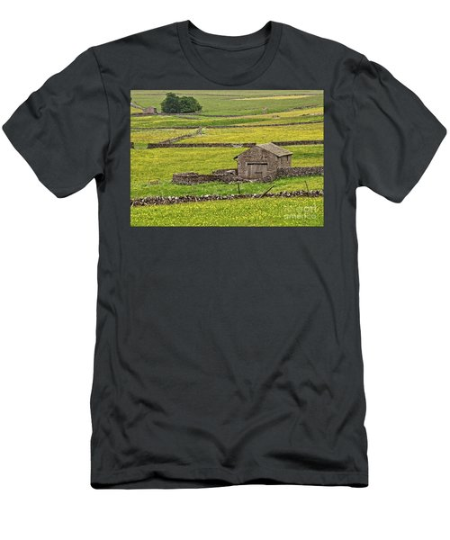 Wildflower Meadows Men's T-Shirt (Athletic Fit)