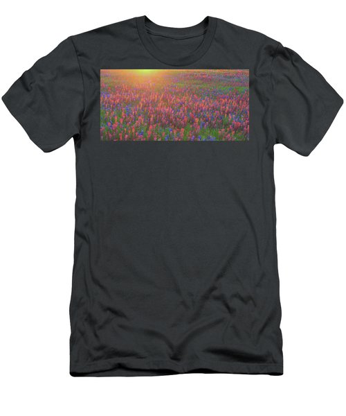 Wildflowers In Texas Men's T-Shirt (Athletic Fit)