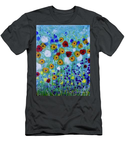 Wildflowers Never Die Men's T-Shirt (Athletic Fit)