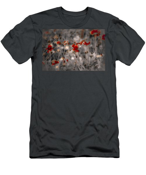 Wildflowers Of The Dunes Men's T-Shirt (Athletic Fit)