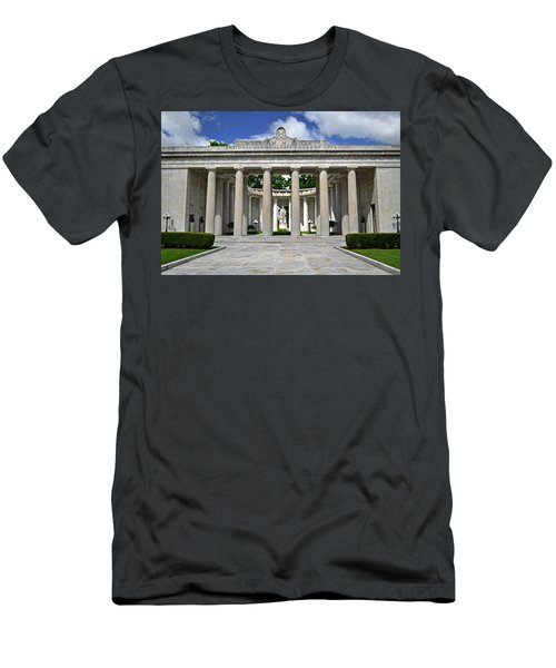 Men's T-Shirt (Slim Fit) featuring the photograph William Mckinley Memorial 003 by George Bostian