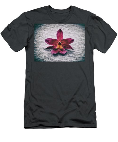 Wilting Orchid  Men's T-Shirt (Athletic Fit)