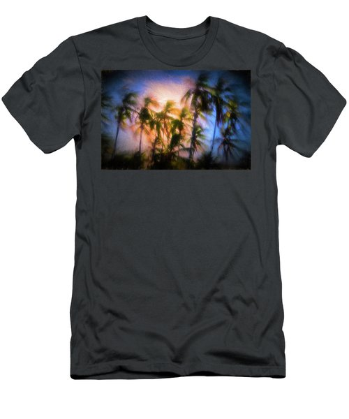 Wind And Palms Men's T-Shirt (Athletic Fit)