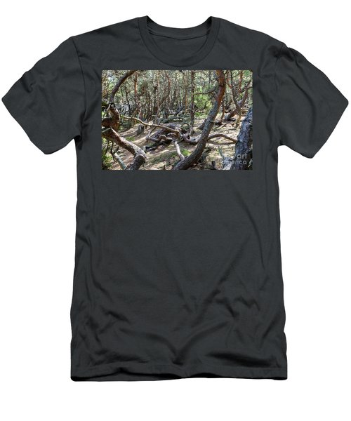 Men's T-Shirt (Athletic Fit) featuring the photograph Wind Blown by Kennerth and Birgitta Kullman