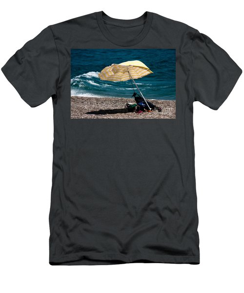 Men's T-Shirt (Slim Fit) featuring the photograph Wind  by Bruno Spagnolo