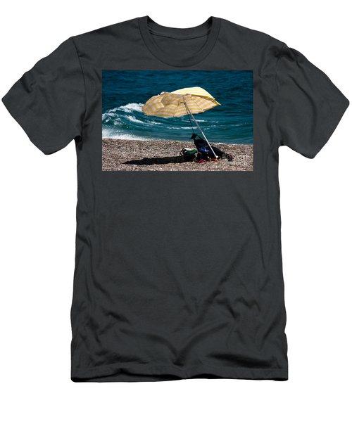 Wind  Men's T-Shirt (Athletic Fit)