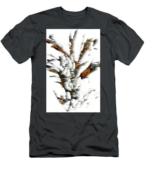 Men's T-Shirt (Athletic Fit) featuring the painting Wind Series 05.072311windblastscvss by Kris Haas