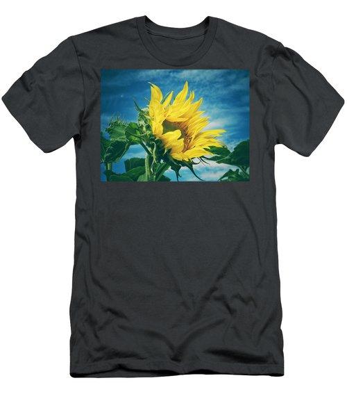 Windblown  Men's T-Shirt (Slim Fit) by Karen Stahlros