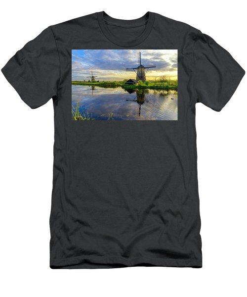 Windmills Men's T-Shirt (Athletic Fit)